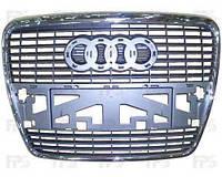 Решетка радиатора для Audi A6 '05-10 хром молдинг (FPS)