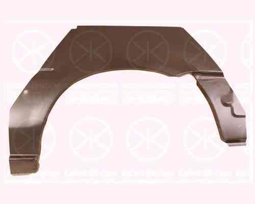 Ремонтная часть заднего крыла Nissan Sunny 86-90 хетчбек, 2 дв. арка,