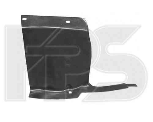 Защита двигателя пластиковая Citroen Berlingo 02-07 левая (FPS)
