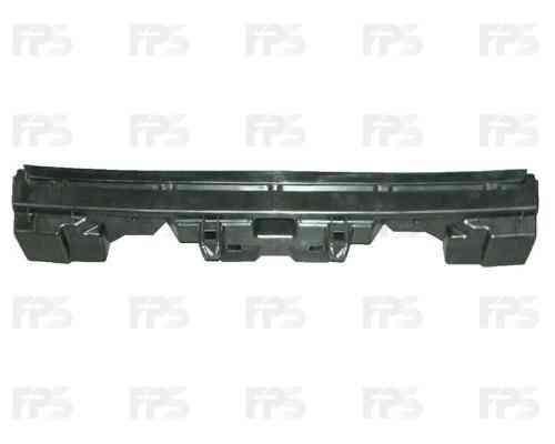 Шина заднего бампера Citroen C4 05-10 (хэтчбек, пласмас) (FPS) 741680