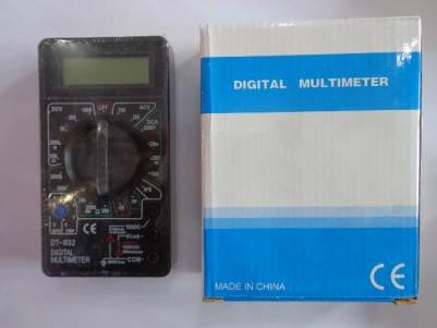 Цифровой тестер, мультиметр 832, фото 2
