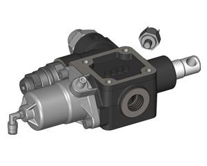 Гидравлический распределительный клапан для самосвалов OMFB MODULAR 150 PHEUMATIC CARTRIDGE с боковым портом