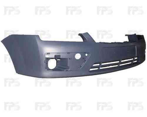 Передний бампер Ford Focus II 04-08, грунт (FPS)