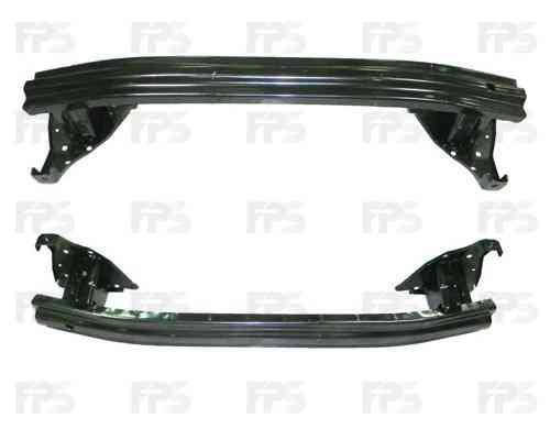 Шина переднего бампера Fiat Doblo 01-04 (FPS), фото 2