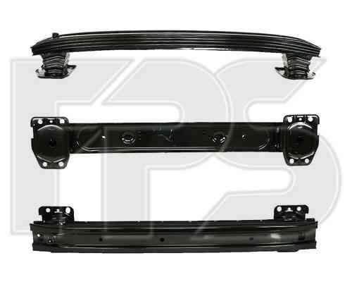 Шина переднего бампера Peugeot Bipper 08- (FPS) 51787121