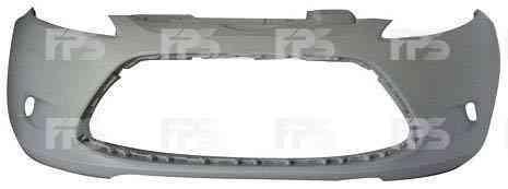 Передний бампер Ford Fiesta 09-13 черный, без отв. ПТФ (FPS)