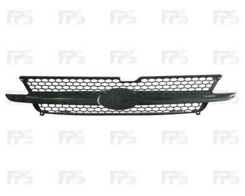 Решетка радиатора Hyundai Getz 02-05 комплект, хром (FPS), фото 2