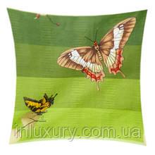"Наволочка ""Зеленая бабочка"" 70x70"