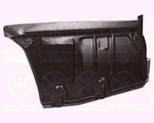 Ремонтная часть заднего крыла Mazda 626 88-92 седан угольник, правая (