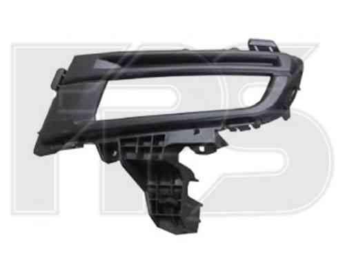 Решетка бампера Mazda 3 06-09 Седан под ПТФ, правая (sport) (FPS)
