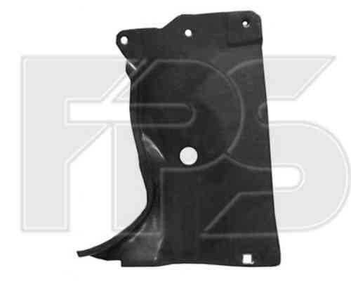 Защита двигателя пластиковая Mazda 3 04-09 хетчбек, правая, боковая (F
