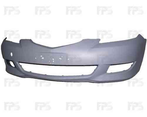 Передний бампер Mazda 3 04-06 Хетчбэк, под покрас. (FPS) FP 3477 900