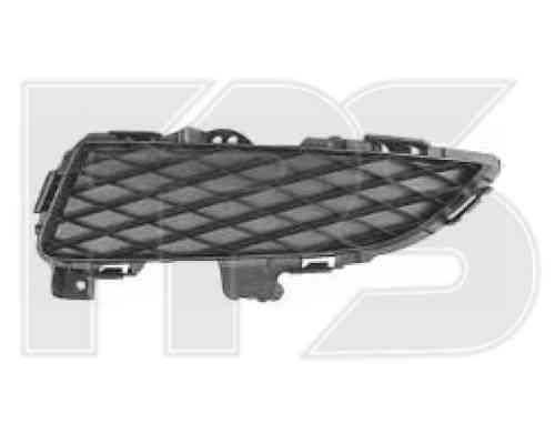 Решетка бампера Mazda 3 04-06 Хетчбек без ПТФ, левая (FPS), фото 2