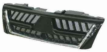 Решетка радиатора Mitsubishi Pajero Wagon 3 03-07 хром/черн. (FPS)