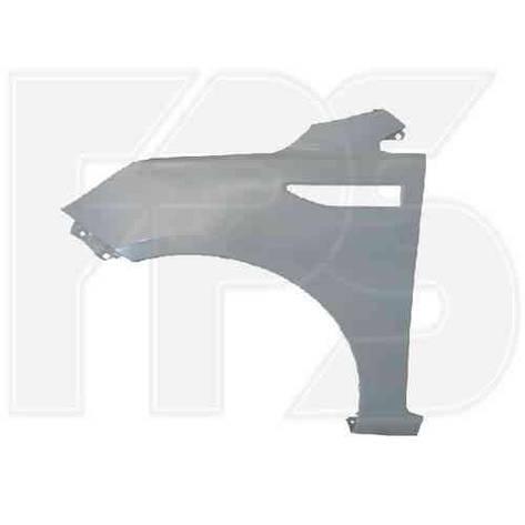 Крыло переднее правое Kia Rio 11-15 (FPS), фото 2
