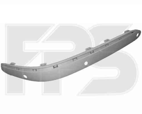 Накладка переднего бампера Mercedes S-class W220 02-05 правая, с отв. парктрон. (FPS) 2208852021