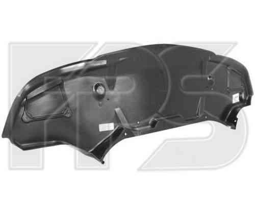 Защита бампера передняя Mercedes E-Class W211 02-09 (FPS)