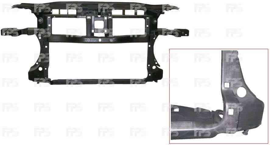 Передняя панель VW Passat B6 05-10 (FPS) FP 7407 200 3C0805588C