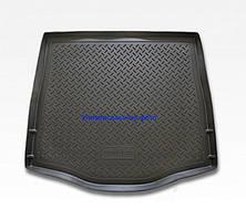 Коврик в багажник Fiat Doblo (01-) полиуретановый