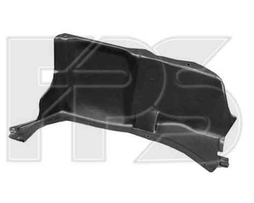 Защита двигателя пластиковая Skoda Octavia 97-09, боковая, левая (FPS)