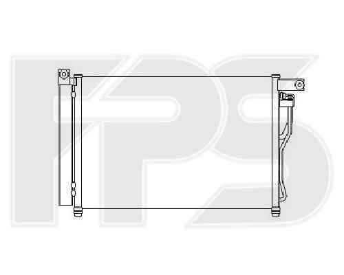 Радиатор кондиционера Hyundai / Kia (NRF) FP 32 K349