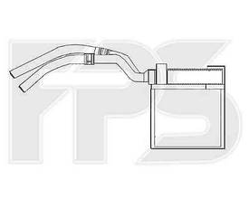 Радиатор печки FORD  C-MAX 2003-2007