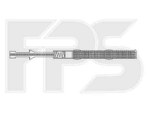 Осушитель кондиционера VW (Nissens) FP 74 Q107-X , фото 2