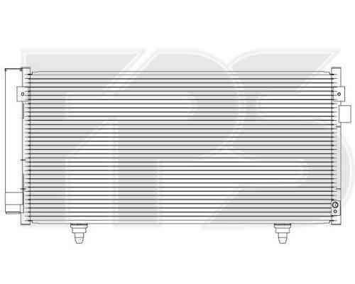 Радиатор кондиционера Subaru Forester (08-12), Subaru Impreza (07-11)