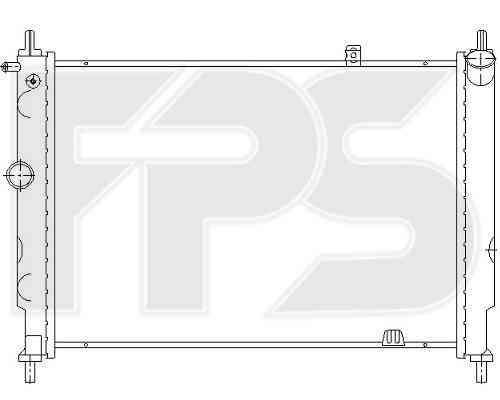 Радиатор охлаждения двигателя Opel (FPS) FP 52 A275-P