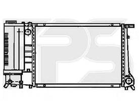 Радиатор охлаждения двигателя BMW (AVA) FP 14 A02-X