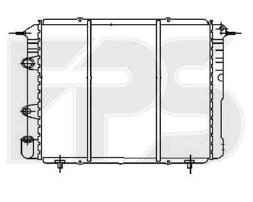 Радиатор охлаждения двигателя Renault Trafic, Renault 19 - 1.4, 1.7 (81-01) , фото 2