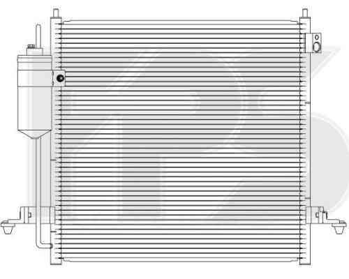 Радиатор кондиционера Mitsubishi L200 2005-