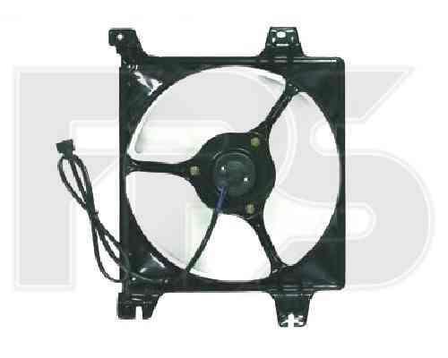 Вентилятор в сборе Mitsubishi Galant 1997-2004 (EA)