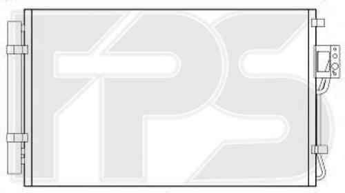 Радиатор кондиционера Hyundai Santa Fe II 2009-2012