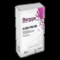 Bergge Klebex PRO 190 клей для утеплителя 25 кг