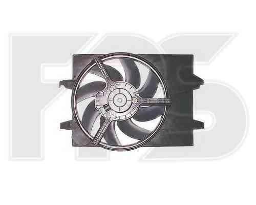 Вентилятор в сборе на FORD  FIESTA 2002-2006