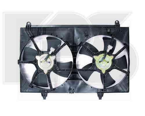 Вентилятор радиатора в сборе Infiniti FX 35,  FX 45 2003-2009 (AVA)