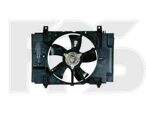 Вентилятор в сборе Nissan Tiida 2005- EUR