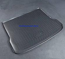 Коврик в багажник Audi Q7 (4M) (15-) (7 мест, сложенный 3 ряд) полиуретановый