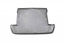 Коврик в багажник LEXUS LX 570 2007-2012, 2012->,  внед. 7 мест, кор. (полиуретан)