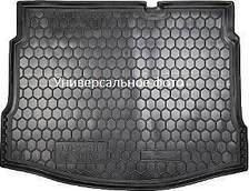 Коврик в багажник Volkswagen Jetta SD MID (2010>) п/у AG (с ушами)