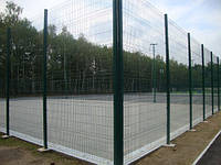Забор (еврозабор - сварная панель) Техна-Спорт высота 4м, фото 1