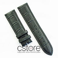 Кожаный ремешок для часов Vacheron Constantin black 22 мм (07154)