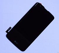 Оригинальный дисплей (модуль) + тачскрин (сенсор) для LG K7 MS330 | Tribute 5 LS675 (черный цвет)