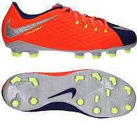 Детские футбольные бутсы Nike Hypervenom Phelon III FG 852595-409 79183a0495dea