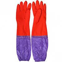 Перчатки латексные с нарукавниками (арт.ПЛН2)