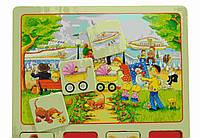 Goki Настольная игра лото Наш маленький город 56740