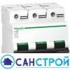 Автоматический выключатель 100А трехфазный, тип С, C120N Schneider Electric A9N18367