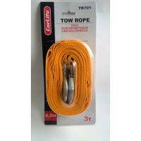 Carlife TR-701  Трос буксировочный 3т  4,5м (крюки)