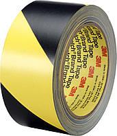 ЗМ™ 5702 - Лента  для разметки полов и сигнальной маркировки, 51х0,13 мм, желто-черный, рулон 33 м